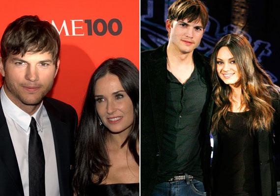 Demi Moore kikészült attól, hogy Ashton Kutcher egy fiatalabb színésznőre cserélte le. 2005-től 2013-ig voltak házasok, Mila Kunis színésznővel a válásuk kimondása előtt, 2012-ben jött össze Kutcher.