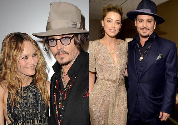 Johnny Depp egy 23 évvel fiatalabb nőre cserélte le akkori párját, Vanessa Paradis színésznőt, akivel 14 évig éltek együtt. Amber Heard színésznővel tavaly házasodott össze.