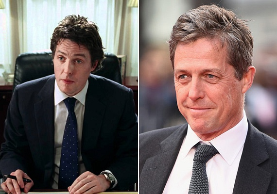 Hugh Grant alakítja a filmben a miniszterelnök Davidet, aki szemet vetett csinos alkalmazottjára. A színész a valóságban is igazi nőfaló, négy gyereke született négy év alatt két anyától, akikkel felváltva randevúzott.
