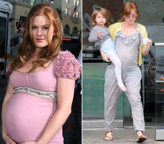 Első kislánya születése után személyi edzővel és szigorú sportprogrammal adta le a felesleget. Másodszorra stresszmentesen, a szoptatásnak és az egészséges táplálkozásnak köszönhetően olvadtak le róla a kilók.