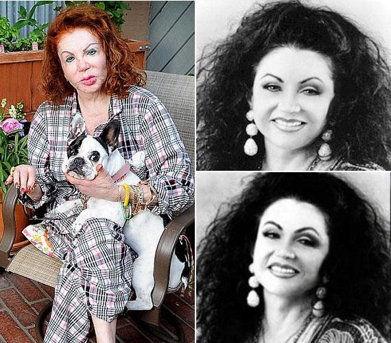 Szép, tipikus olasz nő volt fiatalabb korában, ám egyszerűen nem tudott normális keretek között maradni a plasztikát illetően.