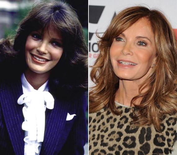 Jaclyn Smith 1982-ben és 2011-ben - szinte hihetetlen, hogy a két fotó majdnem 30 év különbséggel készült.