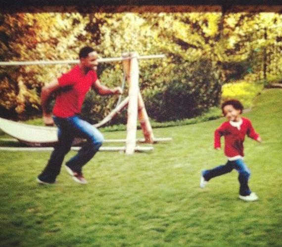 Will Smith együtt szerepelt fiával, Jadennel A boldogság nyomában című filmben.
