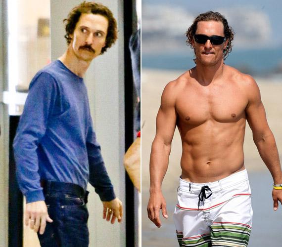 A Mielőtt meghaltam filmért változtatta át testét Matthew McConaughey, aki csak egy kis adag halat, egy csészényi zöldséget és tápiókapudingot volt hajlandó enni. Az önsanyargatás Oscart ért.