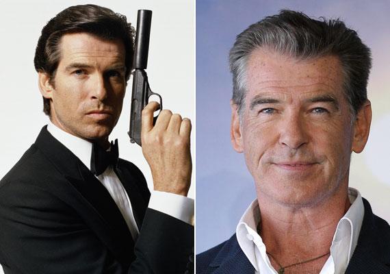 A 62 éves Pierce Brosnan három Bond-filmre írta alá a szerződést. Az első az 1995-ös Aranyszem című volt, amely 350 millió dolláros bevételével az év negyedik legnagyobb kasszasikere lett, ezzel pedig a legsikeresebb Bond-film. 2004-ben jelentette be, hogy megválik a szereptől.