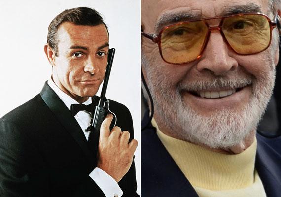 A 85 éves Sean Conneryt rengeteg színész közül választották ki a 007-es ügynök szerepére. Az 1962-ben bemutatott Dr. No még csupán kis költségvetésből készült, ám olyan nagy sikere lett, hogy idáig 23 filmet forgattak belőle. Az Oscar-díjas skót színész hatszor öltötte magára James Bond öltönyét, és hódította meg a filmben szereplő hölgyeket.