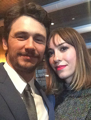 James Franco és Gia Coppola
