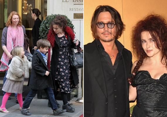 Helena Bonham-Carter és Tim Burton gyermekeinek Johnny Depp a keresztapja.