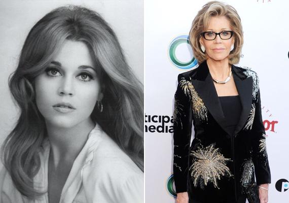 A 78 éves Jane Fonda még mindig olyan gyönyörű, mint huszonévesen. A színésznő sohasem tagadta, hogy kés alá feküdt, azonban remek példa arra, hogy lehet szép is a plasztikai műtét eredménye.