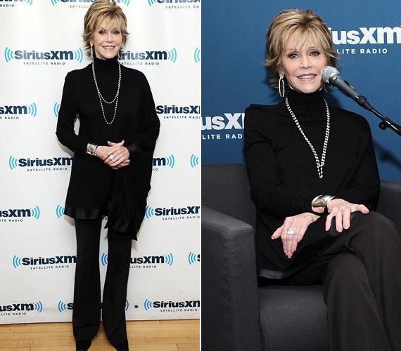 Jane Fonda többször esett már át térd- és csípőműtéten, legutóbb márciusban cseréltek neki csípőprotézist. Mint mondta, azelőtt a napokat kétórás jógával kezdte, de a betegsége miatt erre már képtelen, túl nehéz lett számára.
