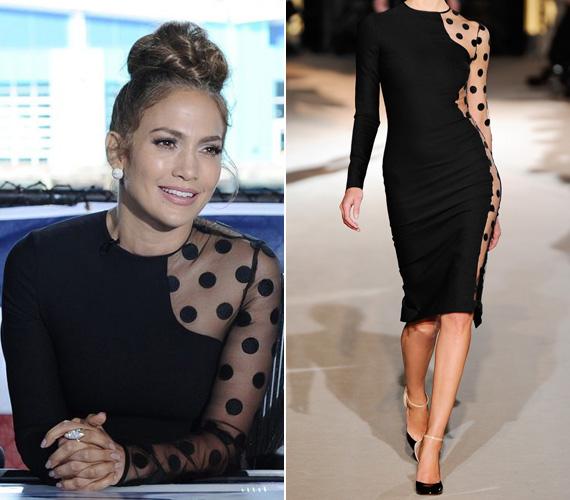 Jennifer Lopez az Amerikan Idol zsűritagjaként tündökölt a a népszerű modellben.