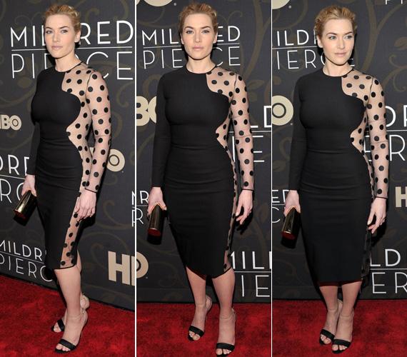 Kate Winslet az HBO Mildred Pierce című minisorozatának premierjén viselte másrciusban a New York-i Ziegfeld Theatre-ben.