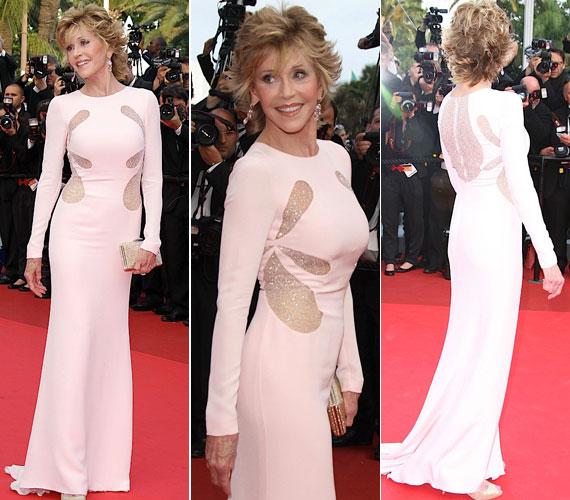 A 2011-es cannes-i filmfesztiválon ebben a pasztellszínű Emilio Pucci ruhában lépett a vörös szőnyegre.