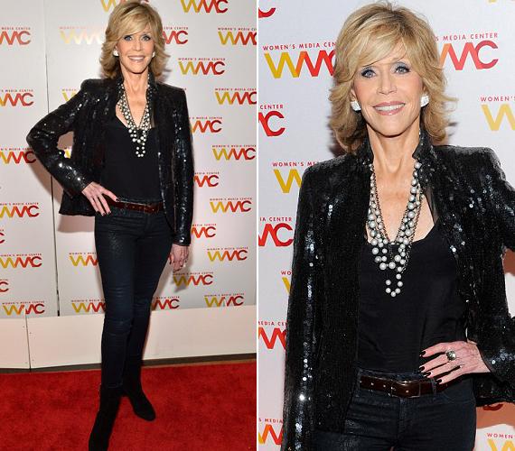 Jane Fonda egy interjúban azt mondta, a kor őt is megviseli, de nem hagyja eltespedni magát, és naponta tornázik.