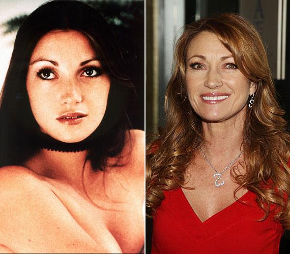 Fiatalon érzékien szép nő volt, de 60 felett is gyönyörű.