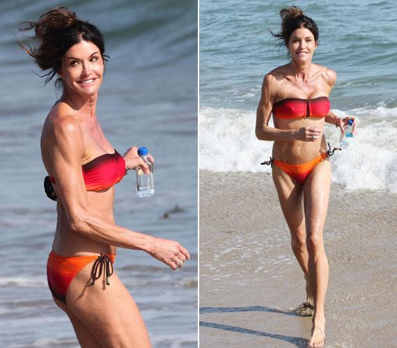 Mostani külsejét látva elgondolkodhatott volna azon, hogy a bikini helyett nem állt volna jobban neki egy másik fürdőruha.
