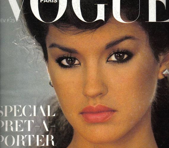 A világhírű szupermodell egészen máshogy nézett ki a Vogue 1979 februári számának címlapján.