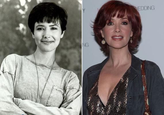 A színésznő bájos arca teljesen elveszítette a karakterességét, mára inkább egy jégkirálynőhöz hasonlít.
