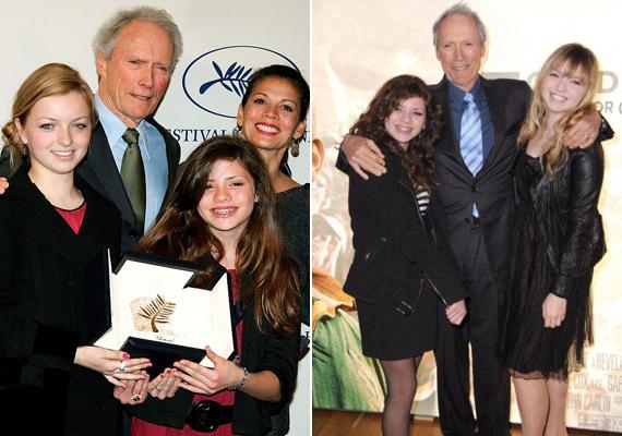 A 22 éves Francesca Eastwood is késői gyerek, híres westernsztár édesapja, Clint Eastwood már bőven nagypapakorban volt, amikor lánya megszületett.