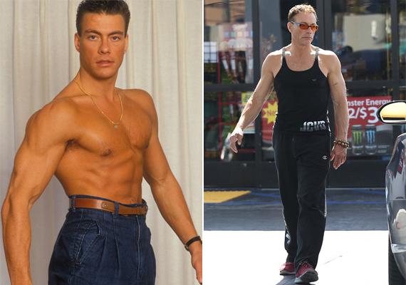 Jean-Claude Van Damme elképesztő izmokat villantott ujjatlan felsőjében, a nők többsége valószínűleg még ma is könnyedén belehabarodna.