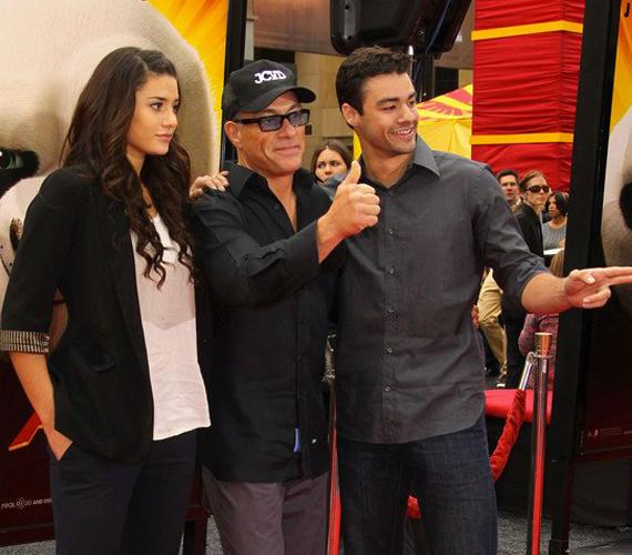 2011-ben a Kung Fu Panda premierjére két nagyobbik gyermeke is elkísérte Jean-Claude Van Damme-ot. Az akkor 21 éves Bianca erre az alkalomra nagyon visszafogottan öltözött fel, talán még nem volt tisztában azzal, hogy mennyire csinos.
