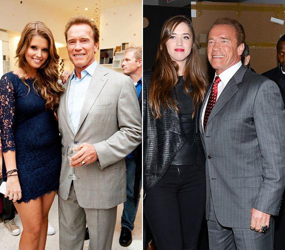 Arnold Schwarzeneggernek két fia és két lánya van feleségétől, Maria Schrivertől, mellettük pedig házasságon kívül is született egy fia. Katherine, a nagyobbik lány 26 éves, Christina pedig 23.