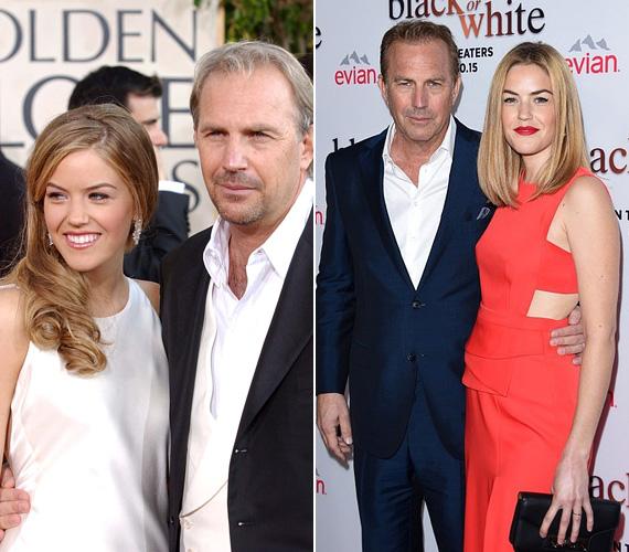 Kevin Costner hét gyermek édesapja, három lánya és négy fia van. Lányai közül legtöbbször Lilyvel mutatkozott, ő most 29 éves.
