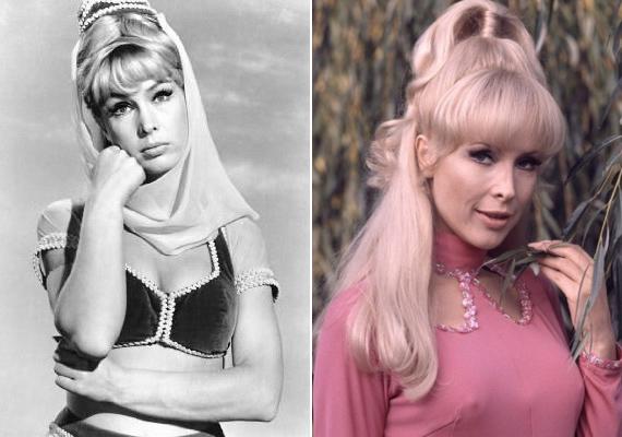 Barbara Eden igazán gyönyörű nő volt fiatalkorában is, így nem csoda, hogy 1962-ben megválasztották az év televíziós szexszimbólumának.