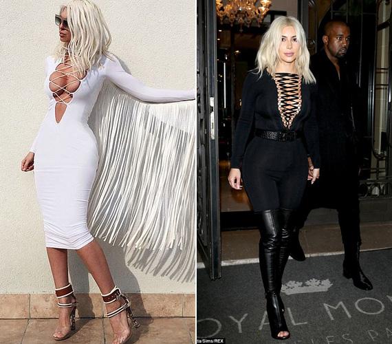 Mindketten szeretik a feltűnő ruhákat, melyek egyaránt hangsúlyozzák az alakot és a dekoltázst.