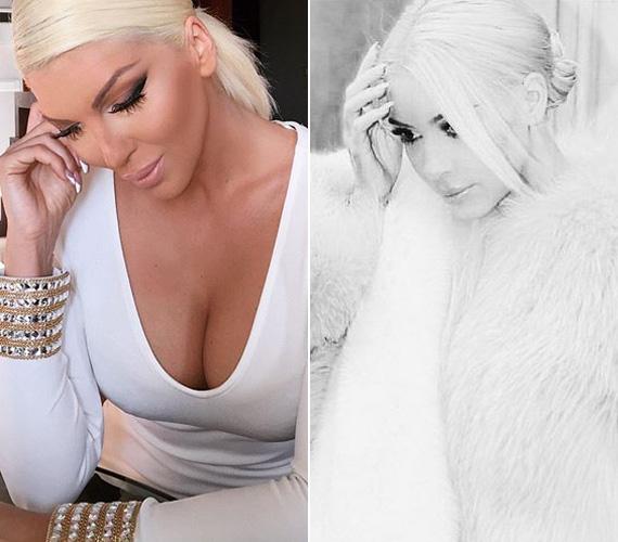 Jelena korábbi posztjára nagyon hasonlít Kim Kardashian március 13-ai Instagram-bejegyzése, melyben magát a Jégvarázs Elsájához hasonlítja.