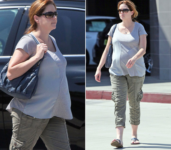 Jenna nem az a tipikus, tiptop sztármami, a legfrissebb lesifotók szerint a várandós színésznő inkább a laza, kényelmes viseletet részesíti előnyben.