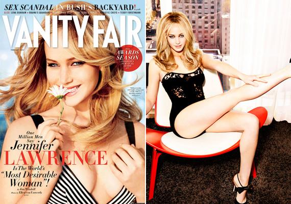 2013-ban már láthattuk a Vanity Fair magazin címlapján. Abban az évben választották meg - több mint egymillió szavazattal - a világ legkívánatosabb nőjének.