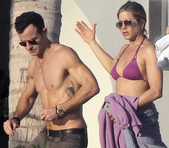 A színésznőt vőlegénye is elkísérte a Los Cabos-i pihenőre.