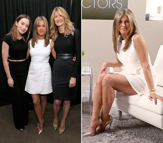 November 8-án volt még egy programja: kora este látogatást tett a Los Angeles-i Variety Studio: Actors On Actors műsorában. Az egy telefongyártó cég által szponzorált show-ban Emily Blunt és Laura Dern színésznők társaságában vett részt.