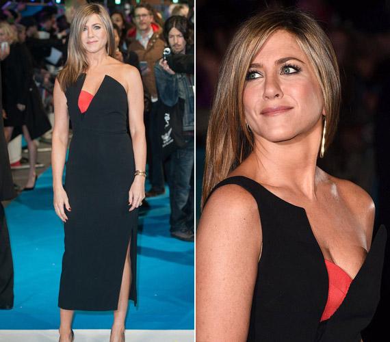 Antonio Berardi ruhájában csak úgy ragyogott a színésznő a londoni premieren.