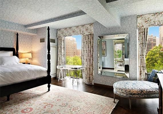 A lakásban összesen három hálószoba van.