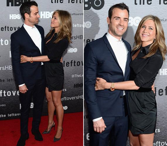 Fekete ingruhájában minden tekintetet magára vonzott Jennifer Aniston.