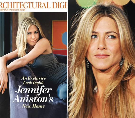 Aniston - mint minden magára valamit is adó sztár - lelkes természetvédő, a magazinban is hangsúlyozta, hogy Los Angeles-i otthona egészen környezetbarát.