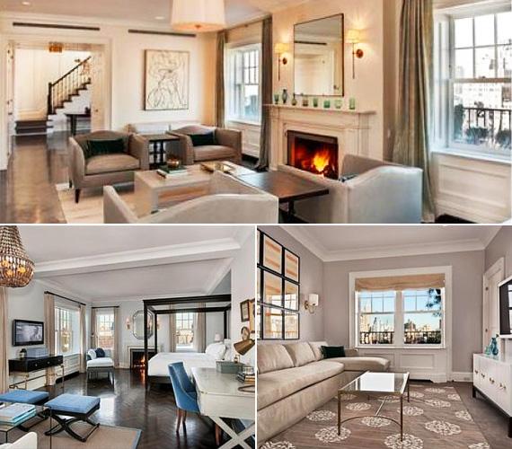A négy hálószobás, négy fürdőszobás nagyvárosi luxuslakás közel 15 millió dollárt - átszámítva körülbelül 2 milliárd 800 millió forintot - kóstál.