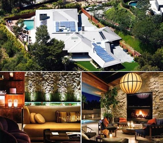 Anistonnak egyébként Beverly Hills elit környékén van a főhadiszállása, luxusrezidenciája a hetvenes évek stílusában van berendezve.