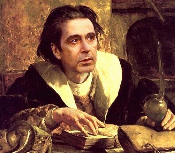 Al Pacino is beleillik a képbe.