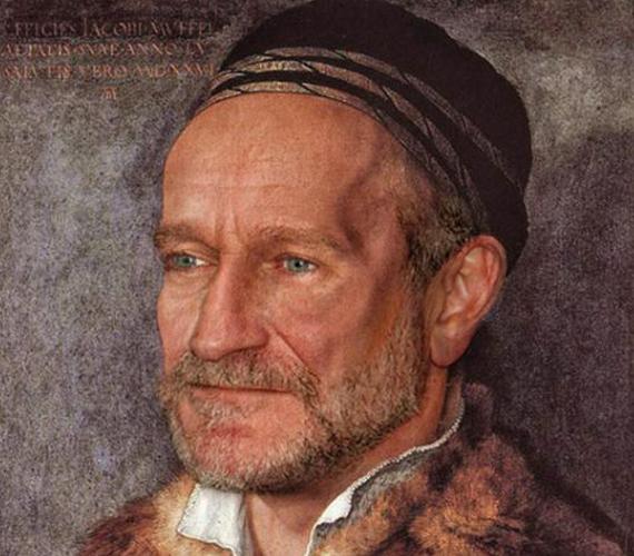 Robin Williams kicsit lefogyott, de sebaj.