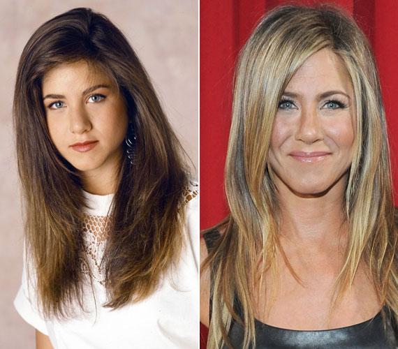 A leglátványosabb változás az orrán figyelhető meg. Vicces, hogy a leghíresebb filmbéli karaktere, Rachel Green is ezt a részét műttette meg a Jóbarátok forgatókönyve szerint.