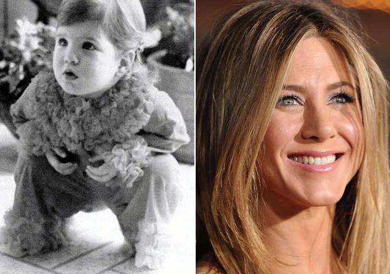 Jennifer Aniston a kilencvenes évek sikersorozatával, a Jóbarátokkal futott be, és lett egy csapásra világhíres. Már gyerekként is imádott szerepelni és pózolni.