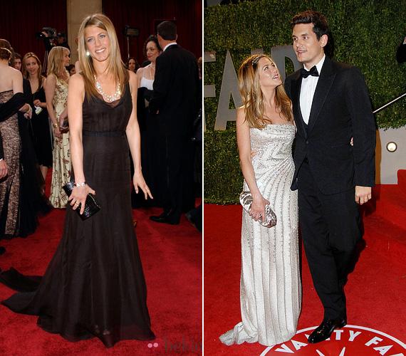 A 2006-os Oscar-gálára ismét visszatért a jól bevált feketéhez, három évvel később viszont ezüstben ragyogott John Mayer oldalán. A férfivel nem maradt együtt sokáig.