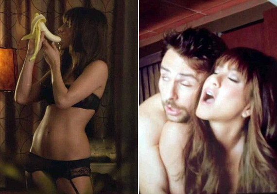 Néhány rajongója bizonyára meglepődik, hogy az eddig csetlő-botló, szerelmes nőket alakító sztár a Förtelmes főnökökben érzéki oldalát is megvillantja a szexéhes fogorvosnő szerepében.
