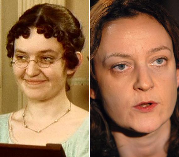 A 46 éves Lucy Briers nem tört be a filmiparba, amit talán enyhén maszkulin kinézetének is köszönhet.