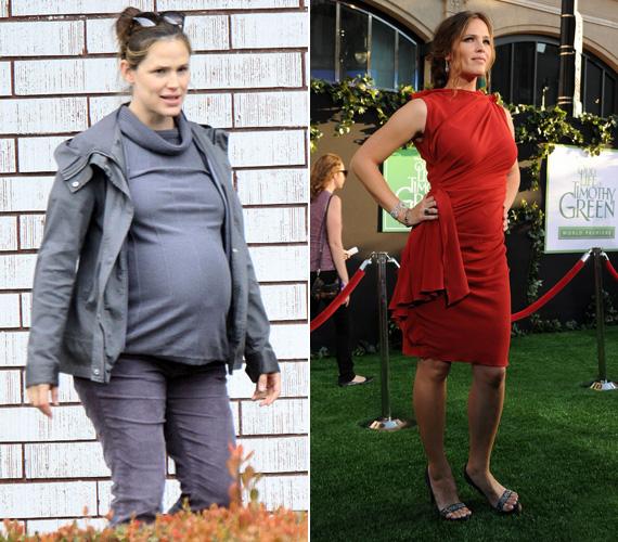 Saját bevallása szerint mindhárom terhessége során rengeteget hízott, ám ebből a legfrissebb fotókon már szinte semmi sem látszik.