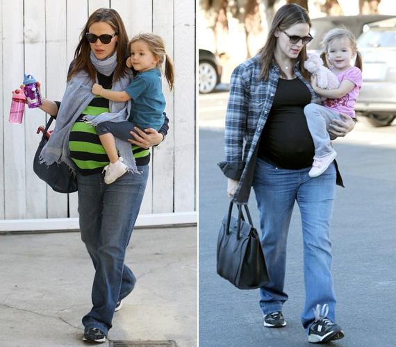 Hatalmas babapocakját elnézve nem sokan gondolták, hogy a színésznő ilyen hamar leadja a pluszkilókat.