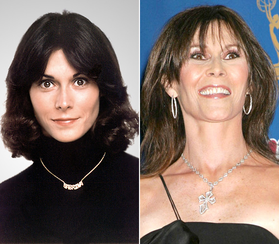 A Charlie angyalai színésznője, Kate Jackson 66 éves, és bár sosem volt az a kifejezett szépség, neki sem tettek jót a sebészi beavatkozások.